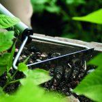 """P270881 Hochbeetkleinrechen Premium Anwendung 1 Hochbeet-Kleinrechen """"premium"""""""